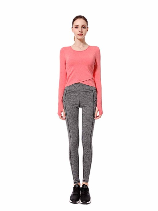 Long Sleeves Quick Dry Women's Sports Set