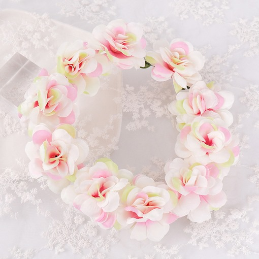 Floral Korean Hairband Wedding Hair Flower