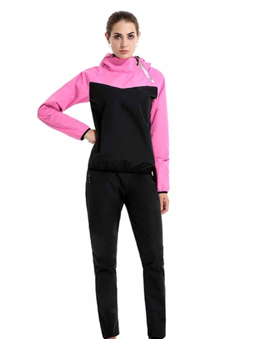 Long Sleeves With Hood Sweat Sports Set