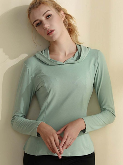 Breathable Quick Dry with Hood Top for Women