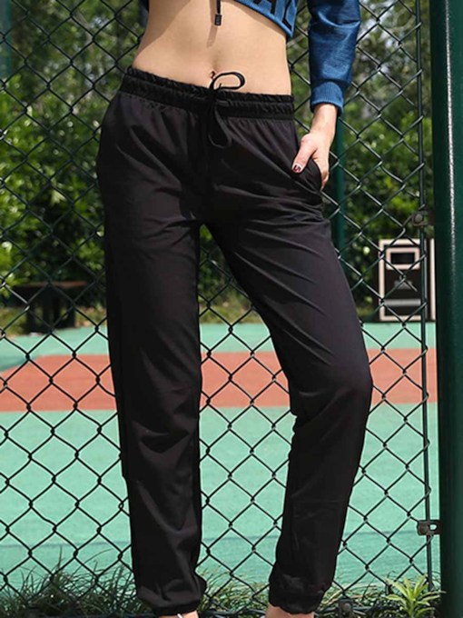 Quick Dry Night Reflection Women's Sports Long Pants