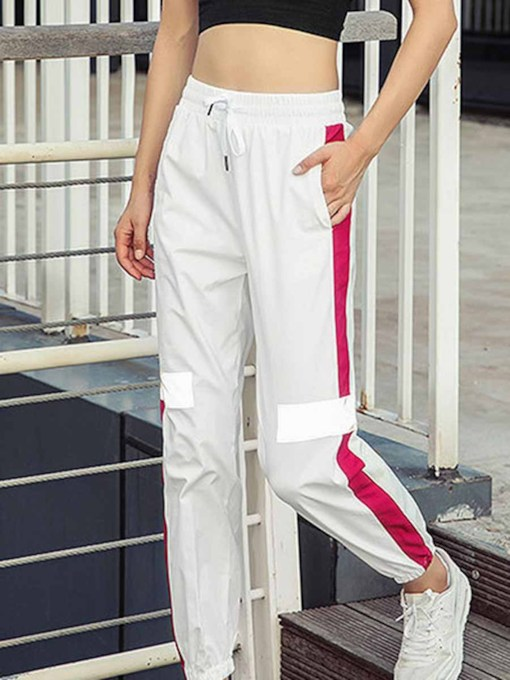 Night Reflection Fashion Women's Sports Long Pants