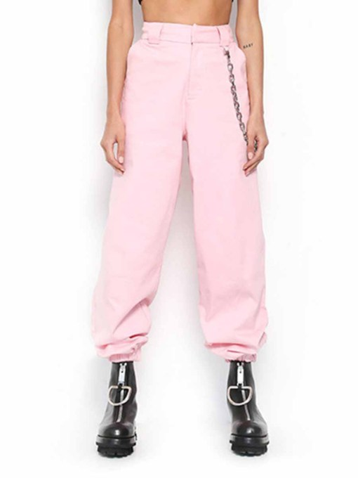 Street Dance Chain Women's Long Pants