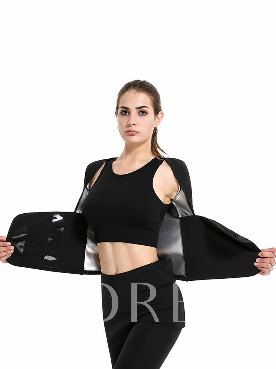 Plus Size Sweating with Liner Reduce Sports Set for Women