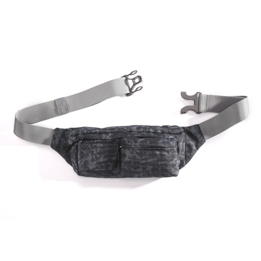 Nylon Thread Unisex Sports Waist Bags