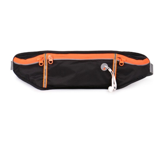 Unisex Nylon Color Block Sports Fanny Pack