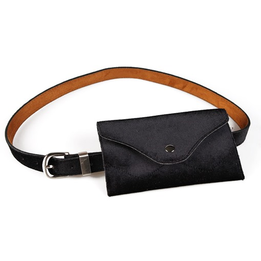 Thread Women PU Waist Belt Fanny Pack