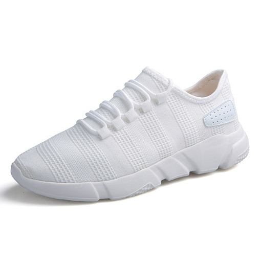 Lace-Up Low-Cut Upper Mesh Round Toe Chic Men's Sneakers
