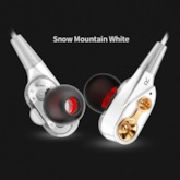CK8 Dual Driver Earphones Stereo Bass Sport Running Headset HIFI Monitor Earbuds Handsfree With Mic