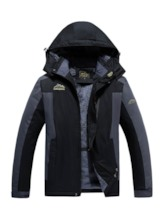 Plus Size Windproof Waterproof Men's Outdoor Jacket