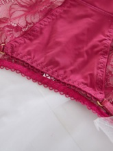 Ice Silk Floral See-Through Panty for Women