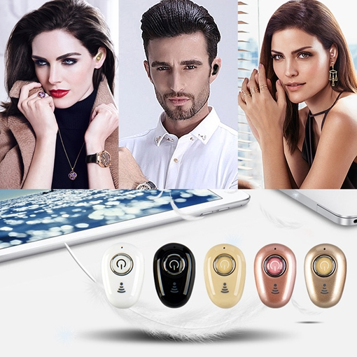 Mini Invisible Bluetooth Earphones 4.1 Music In-Ear Wireless Headset sports Handfree Headphone