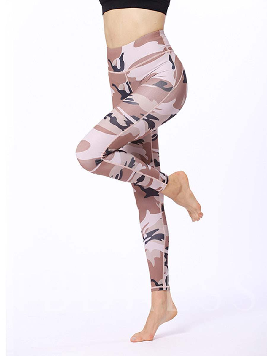 Camouflage High Waist Women's Sports Leggings