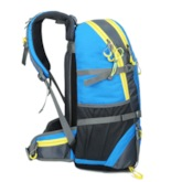 Color Block Oxford Thread Travelling Backpack Outdoor Bag