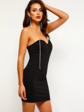 Pullover Sleeveless Bodycon Women's Sexy Dress