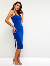 Bodycon Off Shoulder Women's Open Back Dress