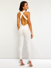 Sexy Backless Skinny Women's Jumpsuit