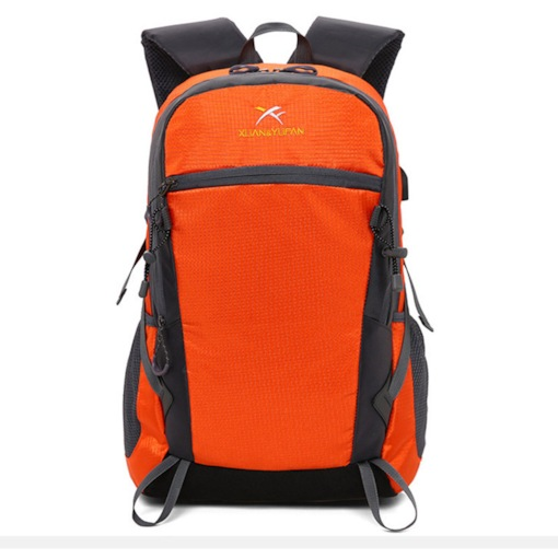 Nylon PatchworkTravel Outdoor Bags Hiking Backpack