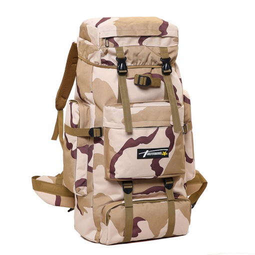 Huge Space Unisex Backpack Oxford Army Outdoor Bags