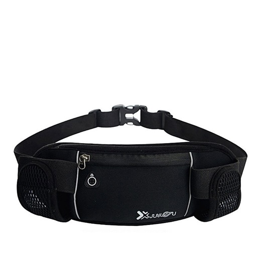 Nylon Color Block Unisex Waist Sports Fanny Pack