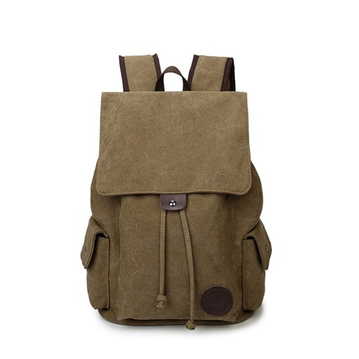 Plain Thread Canvas Travelling Men's Bags