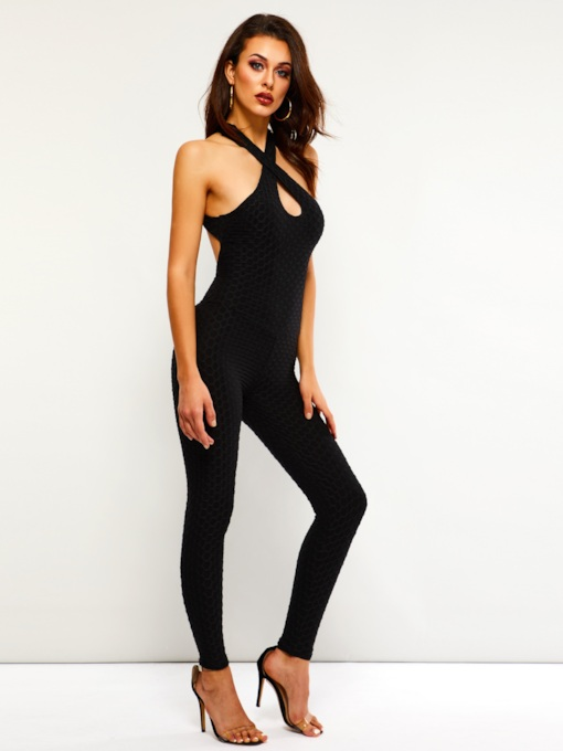f7b3f6612b7 Sexy Backless Skinny Women s Jumpsuit