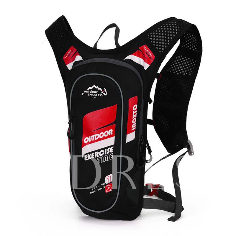 Letter Polyester Thread Travelling Sports Bags
