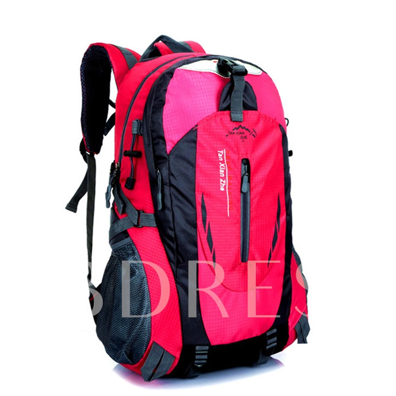 Color Block Patchwork Nylon Travelling Outdoor Bags