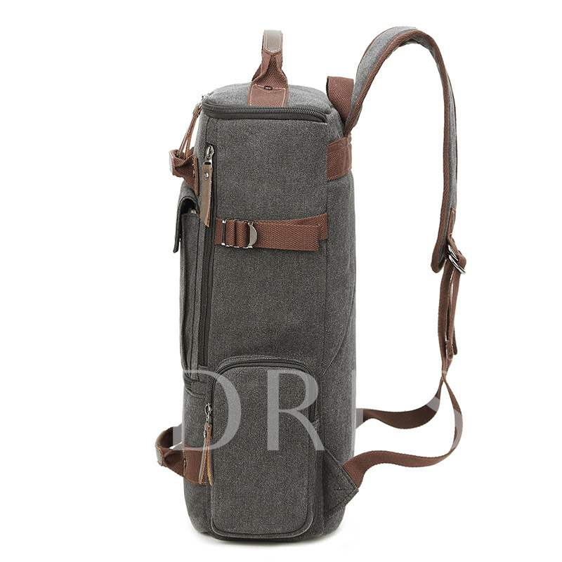 Plain Canvas Thread Travelling Outdoor Bags