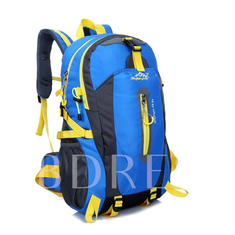 Nylon Belt Decorated Travelling Outdoor Bags