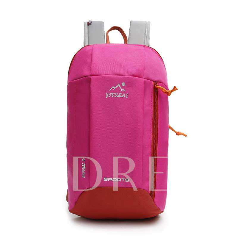 Letter Canvas Print Travelling Children Sports Bags