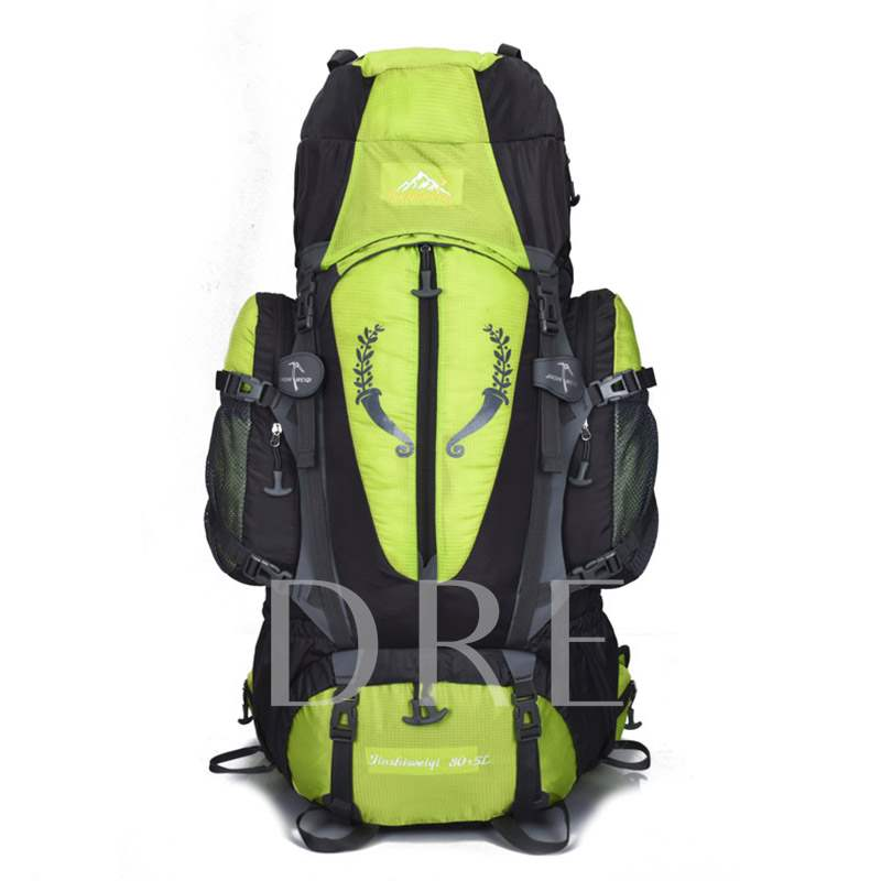 85L Huge Spack Print Nylon Outdoor Bags