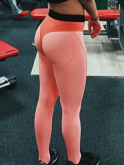 Color Block Quick Dry Full Length Women's Leggings