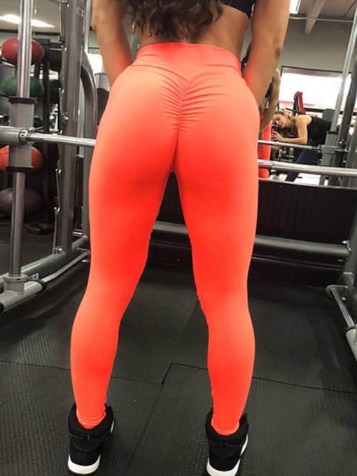 Solid Anti-Sweat Quick Dry Women's Sports Leggings