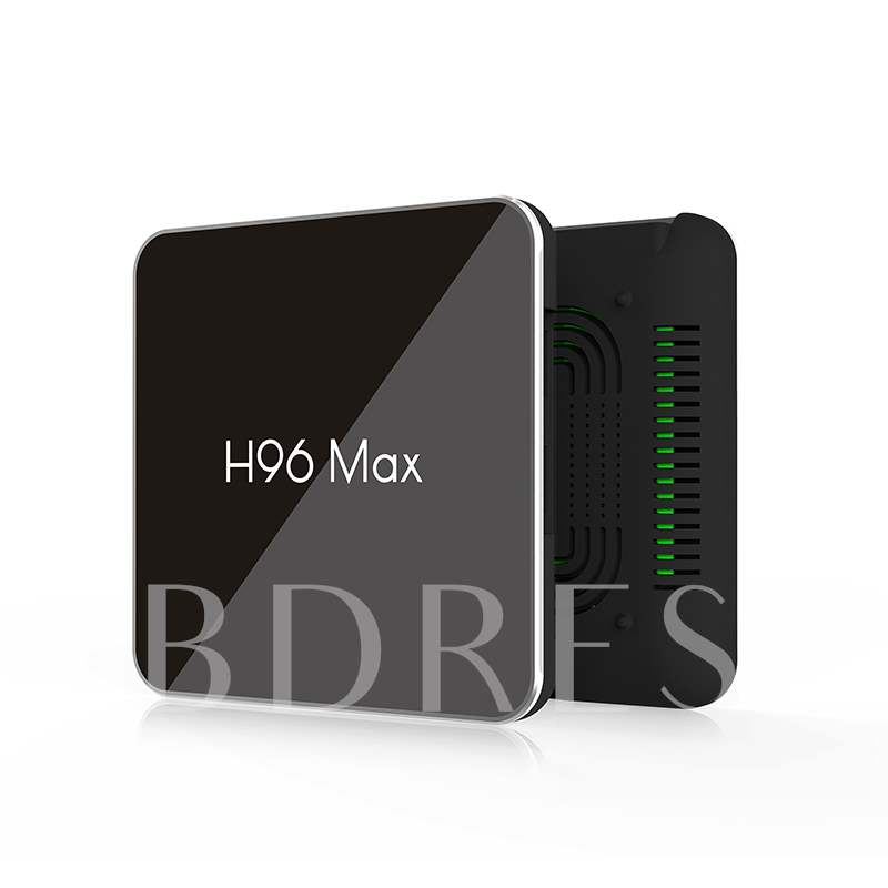 H96 Max X2 4K box 2.4G 5GHz Wifi Bluetooth Set Top box S905X2 Smart tv box android 8.1 Android tv box 4G DDR4 32G or 64G