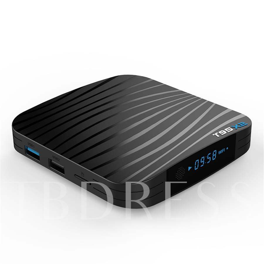 T95X2 Android 8.1 Smart TV Box 4GB 32GB Amlogic S905X2 Quad Core 2.4G WiFi Wireless H.265 4K Netflix Media Player