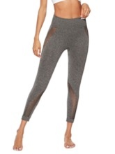 Thin Hollow Plain Women's Leggings