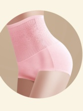 Floral High-Waist Women's Shaping Panty