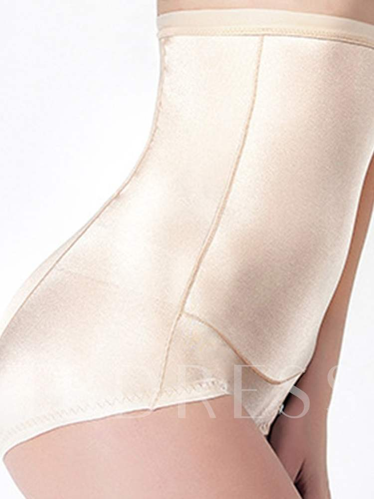 Solid Casual Women's Shaping Panty