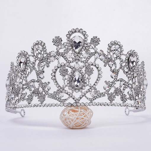 E-Plating Crown Wedding Tiara