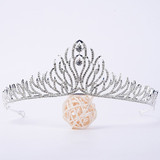 Diamante Crown Wedding Tiara