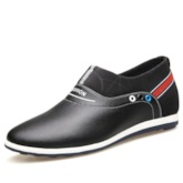 Slip-On Low-Cut Upper Thread Men's Driver Shoes