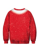 Ugly Christmas Sweaters 2020 Pullover Funny 3D Print Men's Sweatshirt