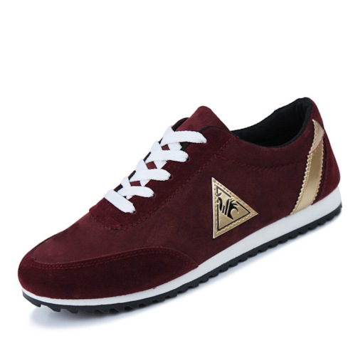 Lace-Up Low-Cut Upper Round Toe Casual Men's Sneakers
