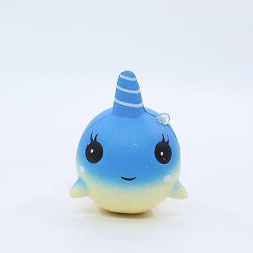 Stress Reliever Narwhal Stuffed Slow Rising Toys