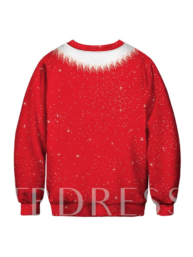 Ugly Christmas Pullover Funny 3D Print Men's Sweatshirt