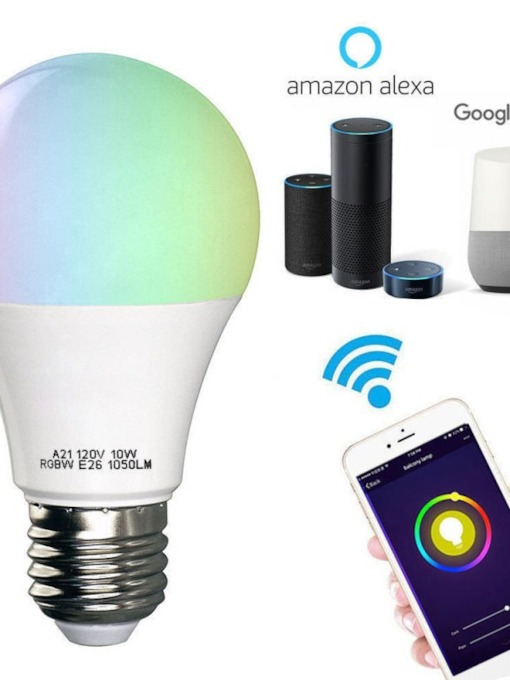 Alexa Voice Control LED Bulb Wireless WiFi Smart Home Bulb