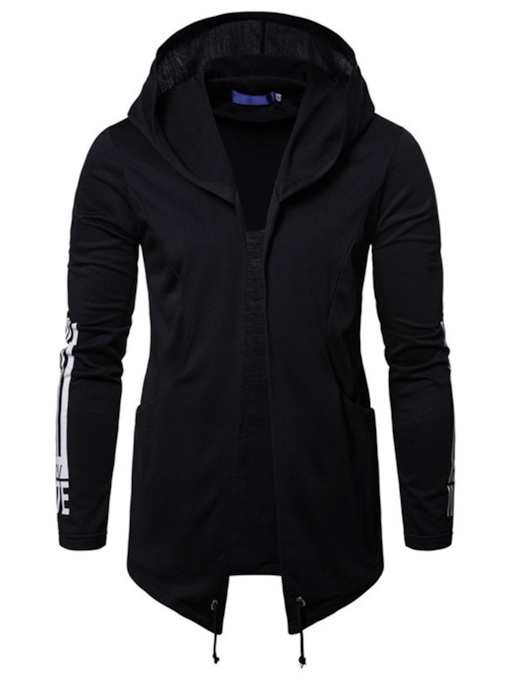 Hooded Cardigan Slim Men's Hoodie
