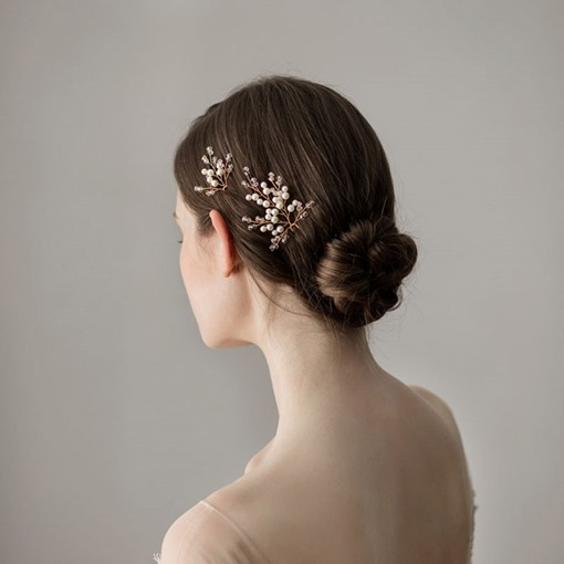Leaf Korean WeddingHair Stick Hair Accessories