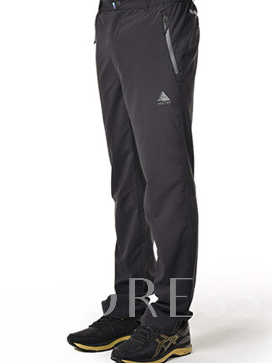 Breathable Quick Dry Pockets Men's Outdoor Pants